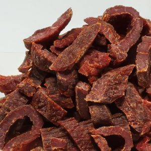beef jerky close-up